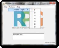 Random Password Generator  1.0 poster
