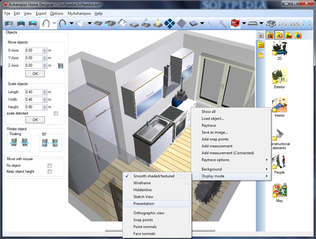 Ashampoo home designer Home maker software