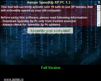 Asman SpeedUp XP PC  1.3.0.0 poster