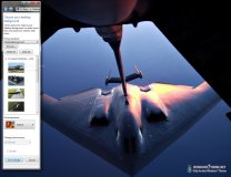 B2 Stealth Bomber Windows 7 Theme  1.0 poster