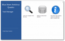 Blue Atom Antivirus  4.1 Build 278 Beta 2 poster