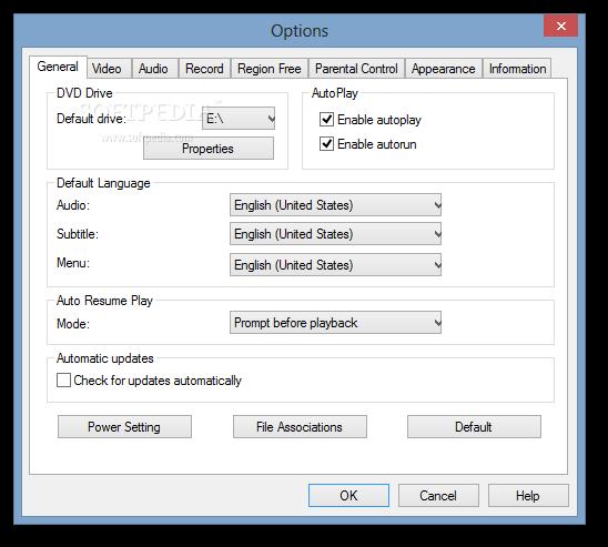 Без региональной, кодовой и зоновой защиты; * DVD X Player поддерживает