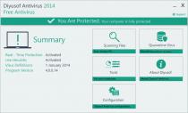 Diyusof Antivirus  2014 4.0.0.17 poster