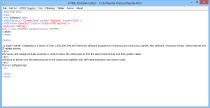 HTML Portable Editor  3.0.1 poster