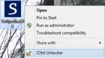 IObit Unlocker  1.1.2 poster