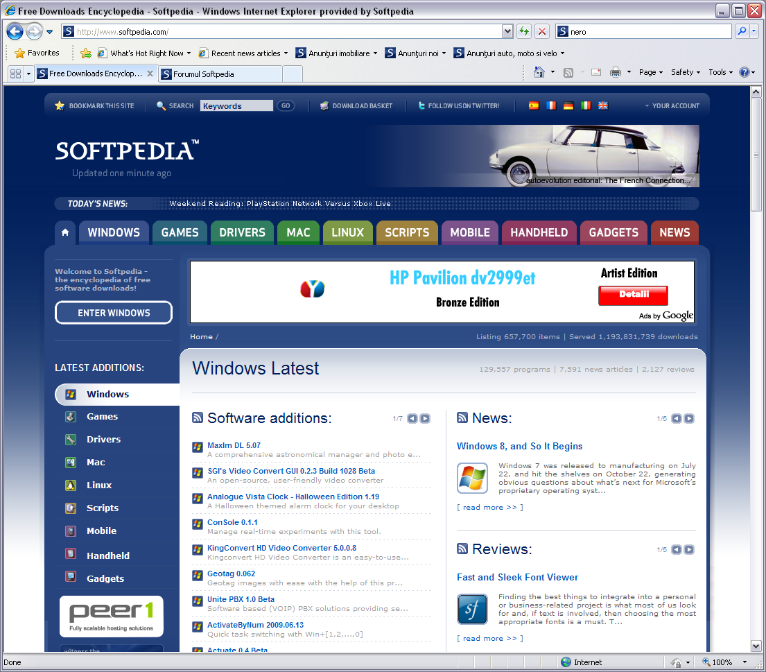 Internet explorer 7 download for pc free.