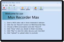 MSN Recorder Max  4.4.8.2 poster