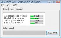 MemoryCleaner  1.47 poster