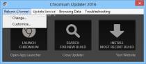 Chromium Updater  2016 Release 3 image 1