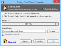 Portable Eusing Free Video Converter  1.8 Build 20150107 poster