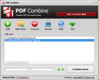 Portable PDF Combine  1.1.0 poster