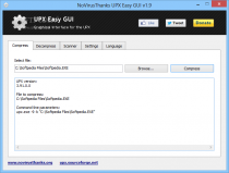 Portable UPX Easy GUI  2.1 poster