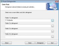 Power Defragmenter  3.1 image 1