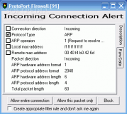 Protoport Personal Firewall  1.5 poster