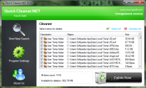 Quick Cleaner.NET  1.1 image 1