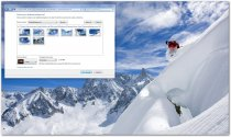 Snow Sports Windows 7 Theme poster