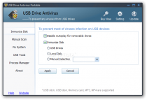 USB Drive Antivirus Portable  3.02 Build 0520 poster