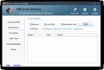 USB Drive Antivirus Portable  3.02 Build 0520 image 1