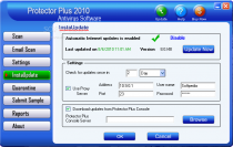 Virus Database Update for Protector Plus poster