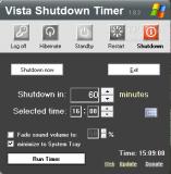 Vista - Shutdown Timer  1.8.3a poster