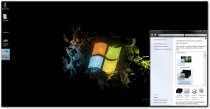 Windows 7 Black Windows Theme  1.0 poster