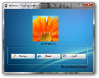 Windows 7 Loging Screen Changer  1.0.0.0 poster