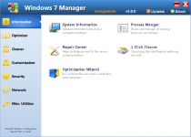 Windows 7 Manager  5.1.9 poster