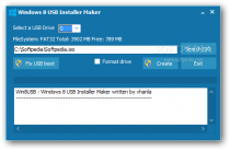 Windows 8 USB Installer Maker  1.0 poster