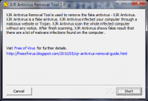 XJR Antivirus Removal Tool  1.0 poster