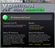XP Antivirus Remover  1 poster