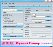 ZIP RAR ACE Password Recovery  2.70.69 poster