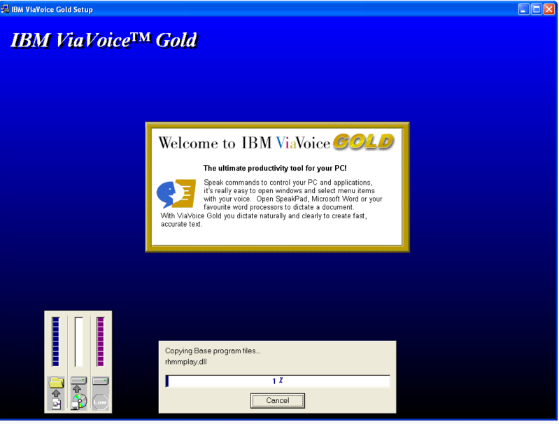 ibm viavoice gold v5 0