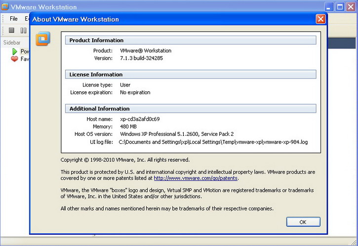 Vmware workstation full 7.1.3 324285 with sn