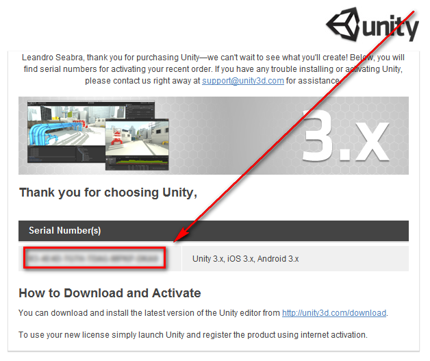 Unity 3D 4.1.5 Serial Key: Software Free Download ...